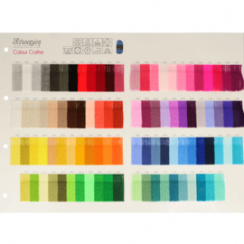 Staalkaart Scheepjes Colour Crafter