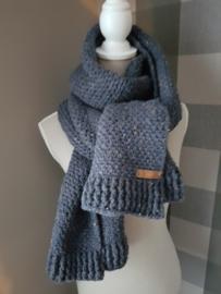 Gehaakte sjaal (Highlands)