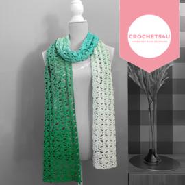Haakpatroon sjaal Sarah