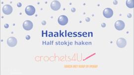 Haakles 3: Half stokje haken