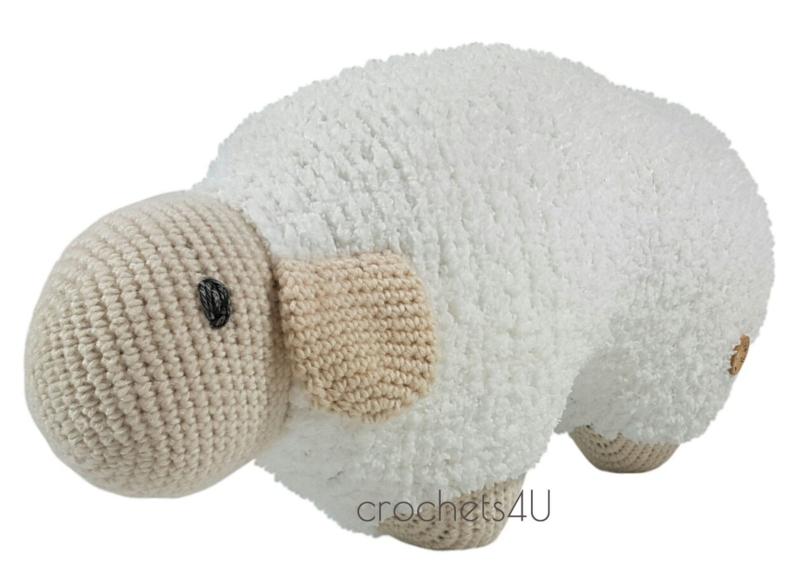 Haakpakket Joekedoe schaap (wit)