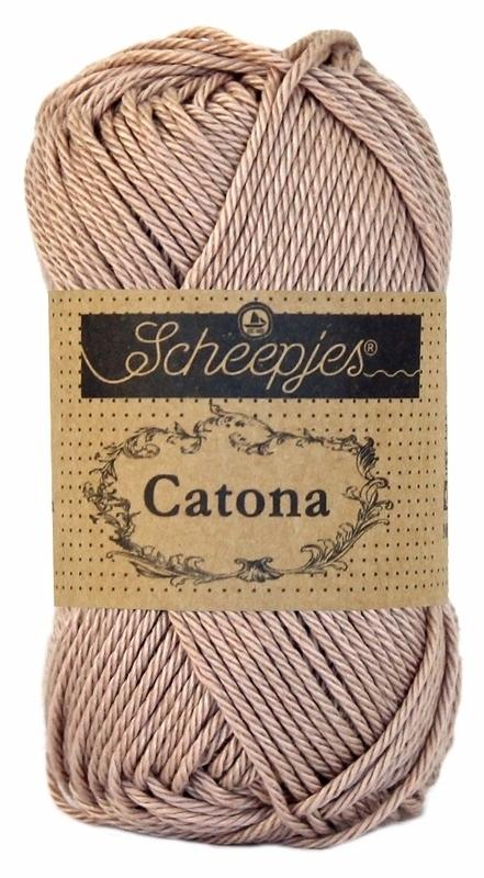 Scheepjes Catona 50 gram - 257 -  antique mauve