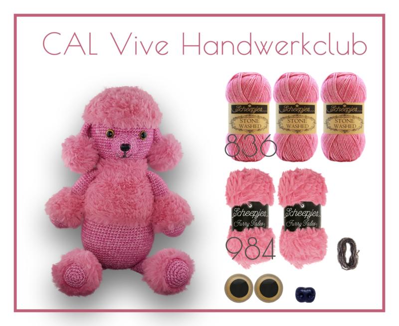 CAL Vive handwerkclub - Max de poedel