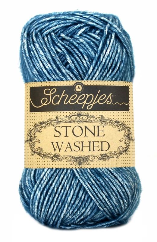 Scheepjes Stone Washed - 805- Blue Apatite
