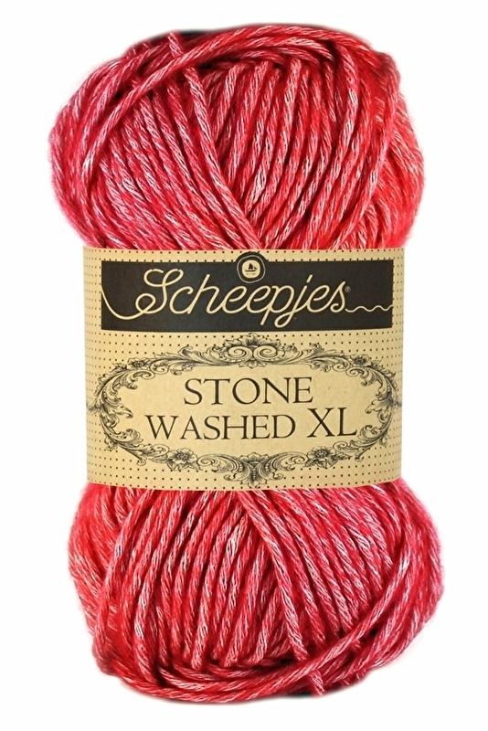 Scheepjes Stone Washed XL - 847- Red Jasper