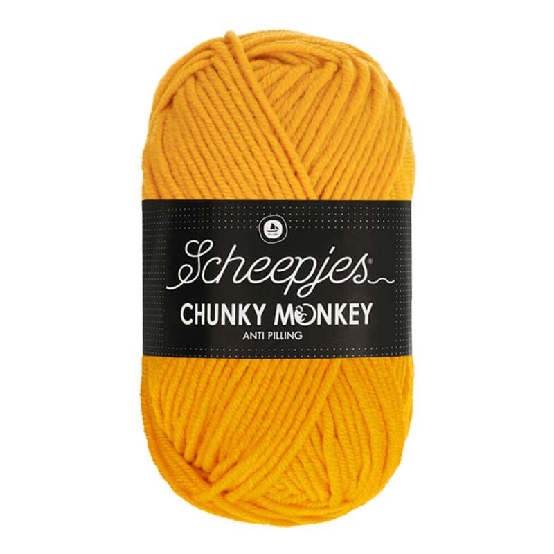 Scheepjes Chunky Monkey - 1114 - Golden Yellow