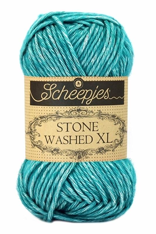 Scheepjes Stone Washed XL - 855- Green Agate