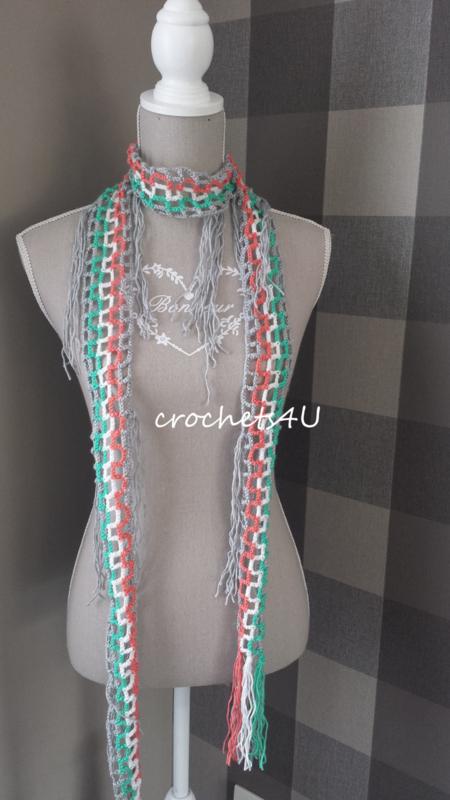 gratis haakpatroon zomerse sjaal
