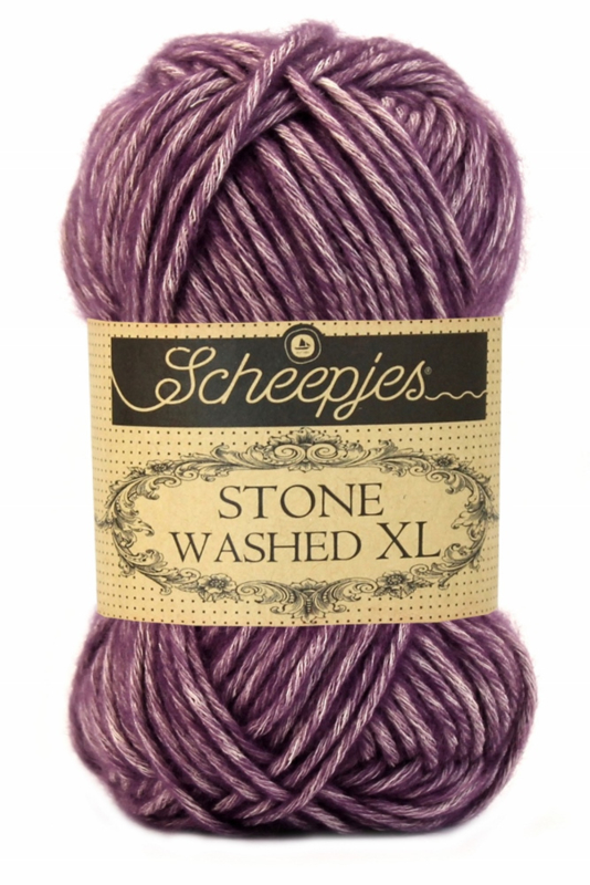 Scheepjes Stone Washed XL - 851 - Deep Amethyst