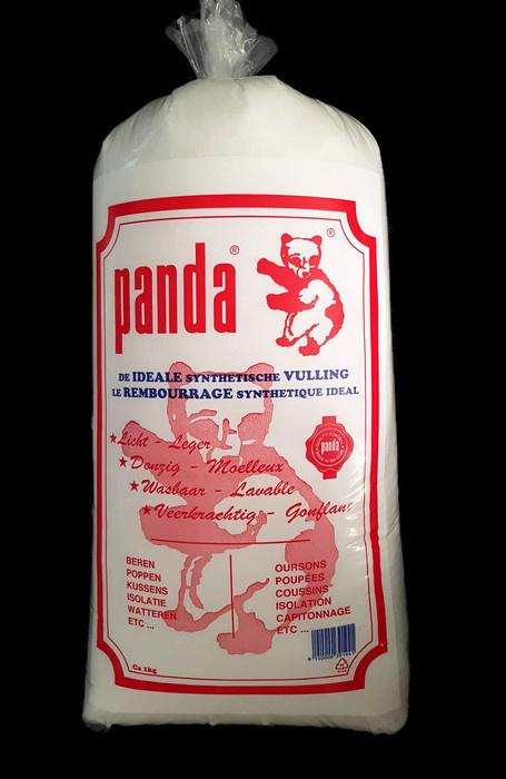 kussenvulling Panda 1 kg - wit
