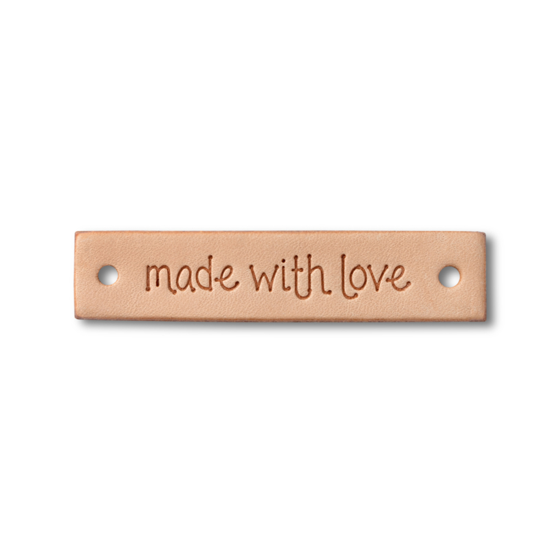 """Prym Label leer """"Made with Love"""""""