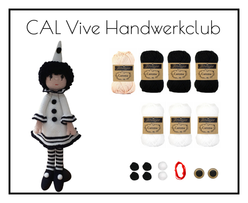 CAL Vive Handwerkclub - Pierrot