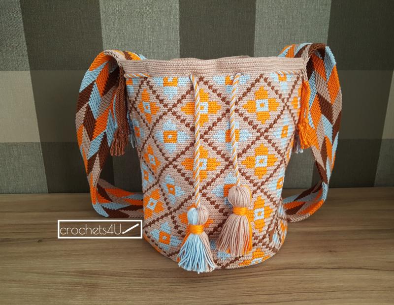 TasGehaakte Crochets4u Crochets4u Tassen Mochila TasGehaakte Mochila Mochila Tassen kn0wOP