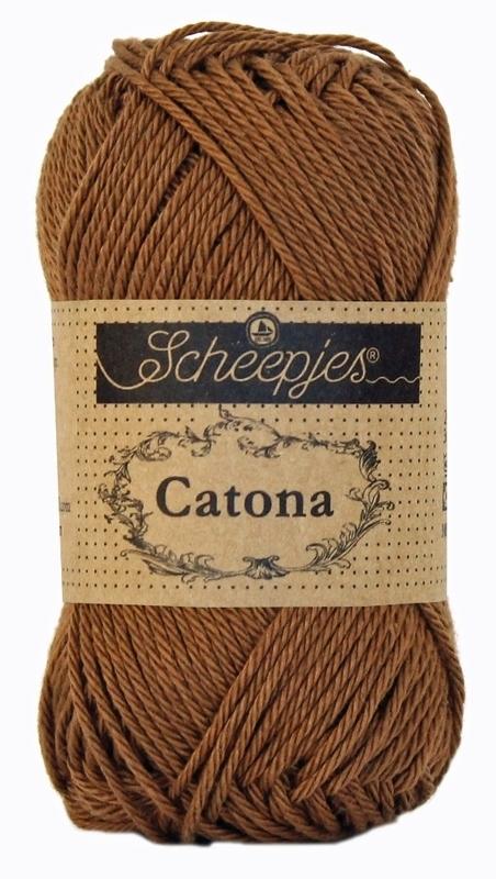 Scheepjes Catona 50 gram - 157 - root beer