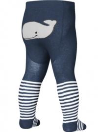 Baby maillot walvis blauw