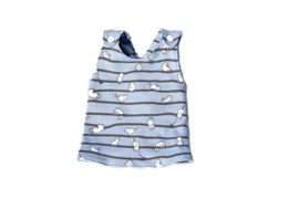 prematuur overgooier Nienke - Cat Stripes Blue