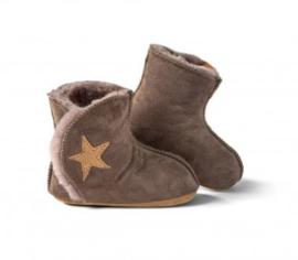 Fellhof baby pantoffel Ranger Choco