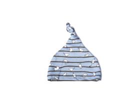 Baby mutsje Tommie - Blauw