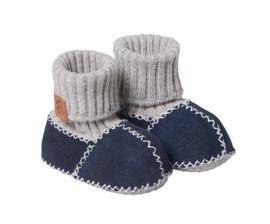 Fellhof baby pantoffel Balu Marine