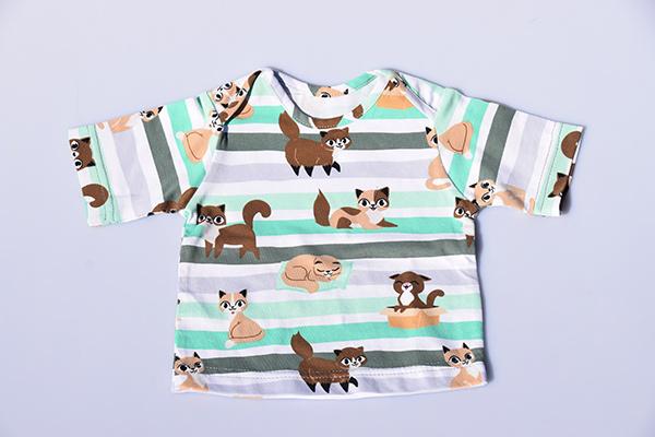T-shirt Gino - Mint Groen