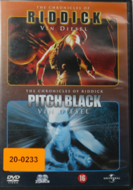 DVD-AA-0037 - R-002 - RIDDICK - EN PITCH BLACK (2 FILMS)