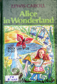 BOEK - AA-0128 - R-007 - ALICE IN WONDERLAND