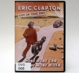 DVD-008 - DVD-R-001 - ERIC CLAPTON - LIVE ON TOUR 2001