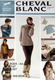 BOEK - AA-0147 - R-007 - CHEVAL BLANC NR. 15  -  (nieuw)