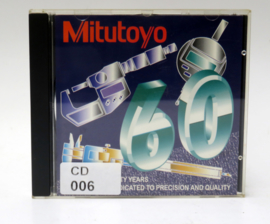 CD-006 - CD-R-001 - MITUTOYO - 60 YEARS INSTRUMENTAL HIGHLIGHTS