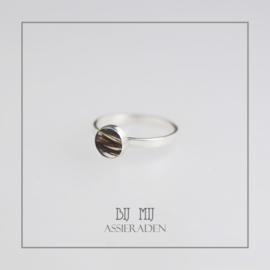 Haarlok-ring Sublime Zilver