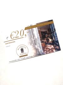 Wijnhuys Kinesis Kadobon 20 euro