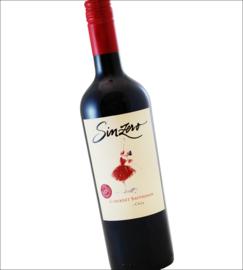 Sinzero - Cabernet Sauvignon - Chili - alcoholvrij