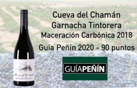 Garnacha Tintoreaa -  2018 -Cueva del Chaman - DO Almansa - Bio