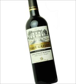 Merlot - Cabernet Sauvignon - Chateau Haut Grelot Rouge Cuvee Tradition Bordeaux