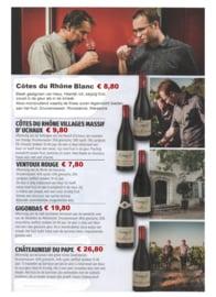 Grenache, Syrah, Carignan, Cinsault - Cotes du Rhone Villages Massif d'Uchaux - Brunely