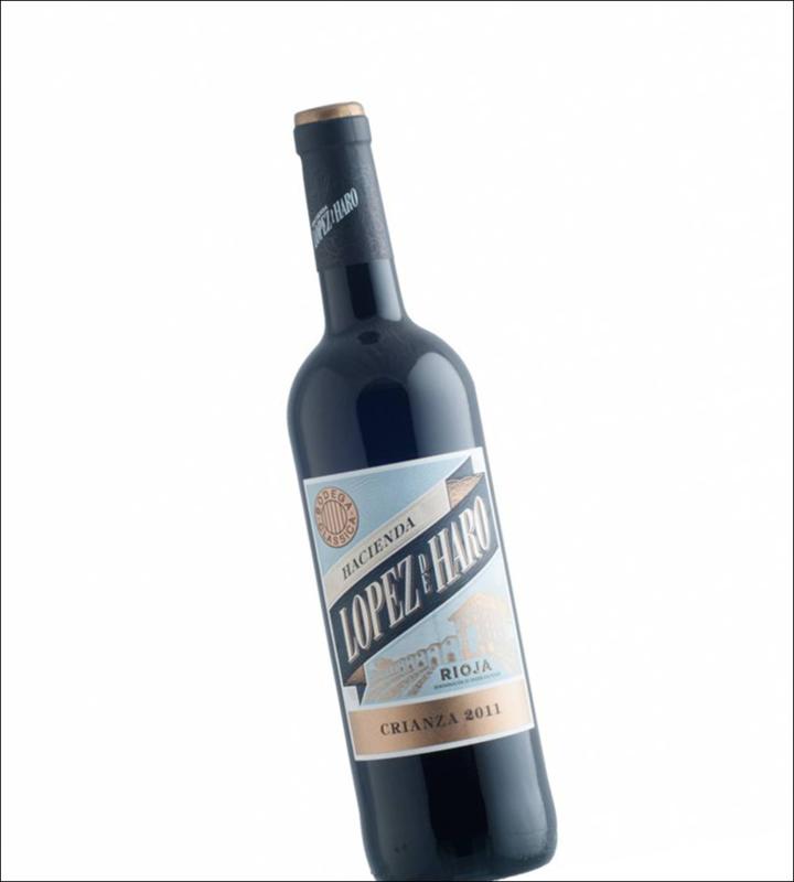 Tempranillo, Garnacha, Graciano  - Rioja Crianza  Lopez de Haro - 18 Meses - Bodega Classica - 0,375L