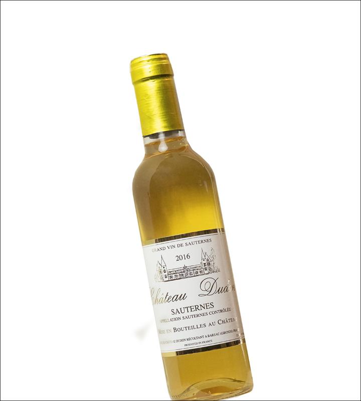 Semillon - Sauternes  Chateau Dudon -  Demi - bio