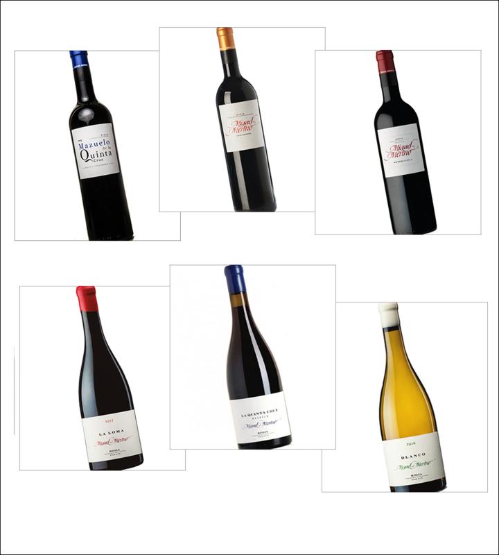 Proefdoos - Miguel Merino Rioja Spanje