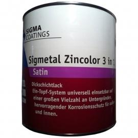 Sigma Sigmetal Semi-Gloss -Wit - 2,5 Liter