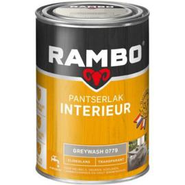 Rambo pantserlak interieur transparant mat greywash - 1,25L -