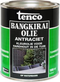 Tenco Bangkirai Olie - Antraciet - 1 L