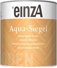einzA Aqua Siegel - Glanzend
