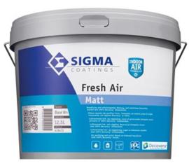 Partij SIGMA AIR PURE SUPERMATT / Fresh Air Matt 12,5 Liter - Wit