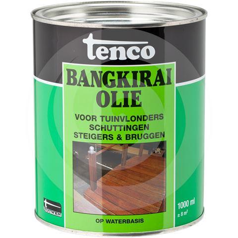 Tenco Bangkirai Olie - Naturel - 2,5 L