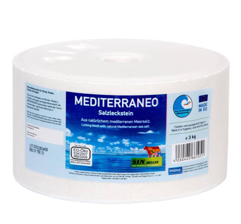 Liksteen zout Mediterraneo