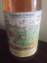 Crémant d'Alsace brut nature rosé 2016