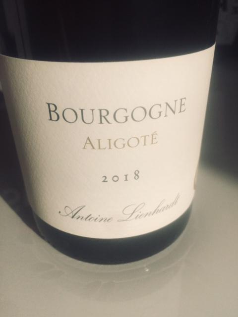 Antoine Lienhardt, Bourgogne Aligoté 2018