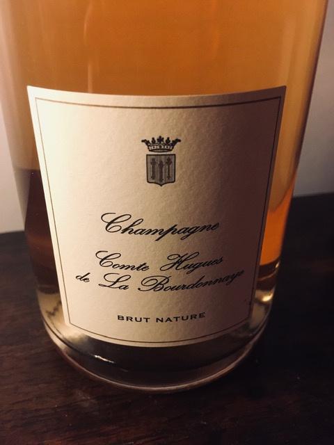 Comte Hugues de la Bourdonnaye, Rosé brut nature