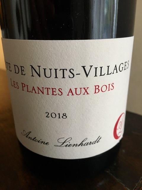 """Côte de Nuits-Villages """"Les Plantes aux Bois"""" 2018"""