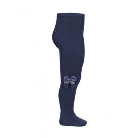 Condor maillot met strik - marineblauw